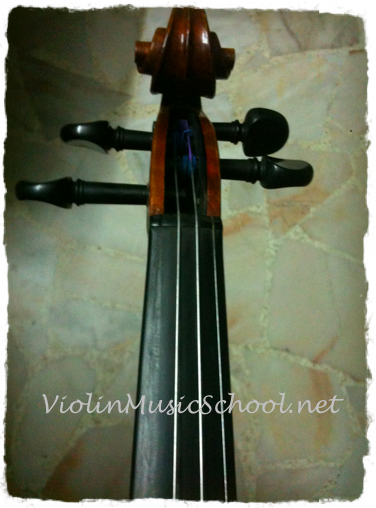 Change Violin Strings Remove G String