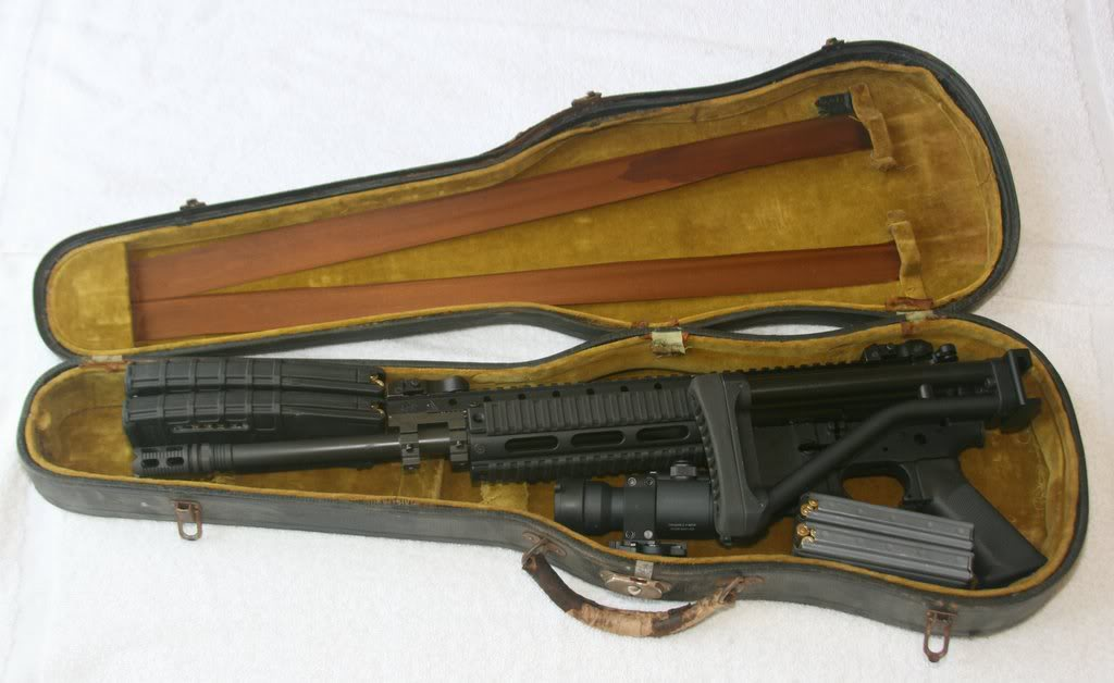 Violin Cases Weapons