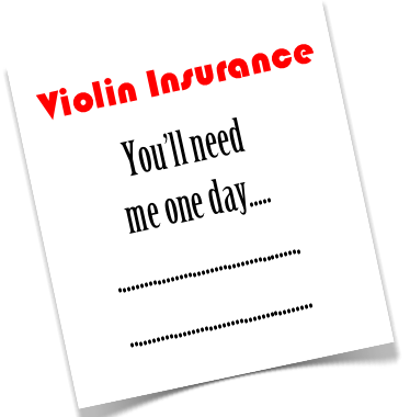 How To Buy Violin Insurance