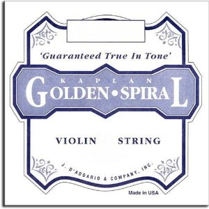 Kaplan Golden Spiral Violin Strings Review