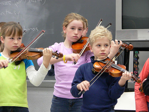 5 motivi per Let Your Kid saperne di Violino
