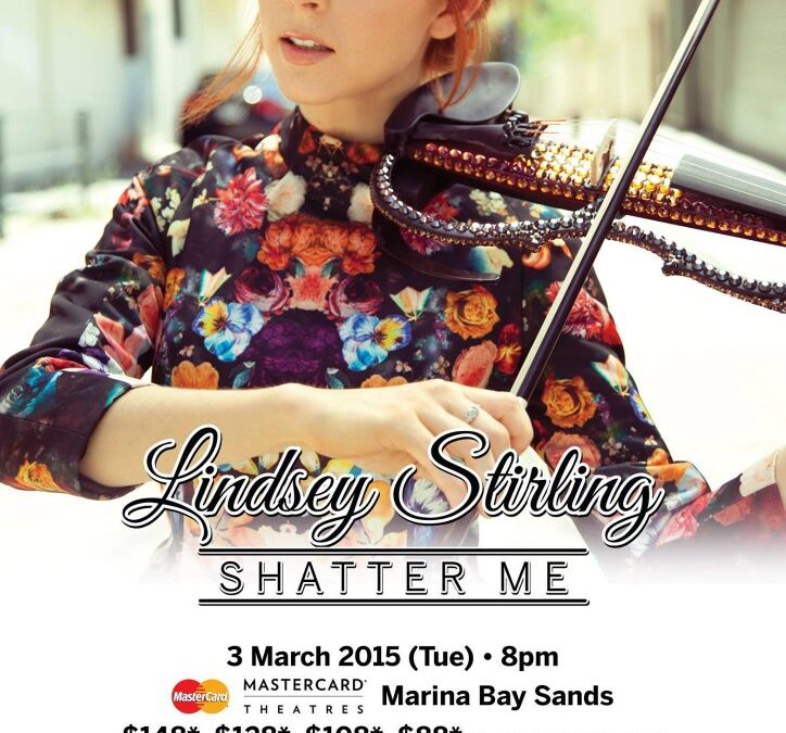 3 Reasons I Will Attend Lindsey Stirling Concert in Singapore Other Than Just Her Awesome Violin Music!
